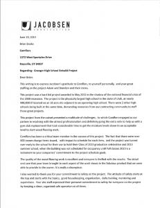 Jacobson Testimonial