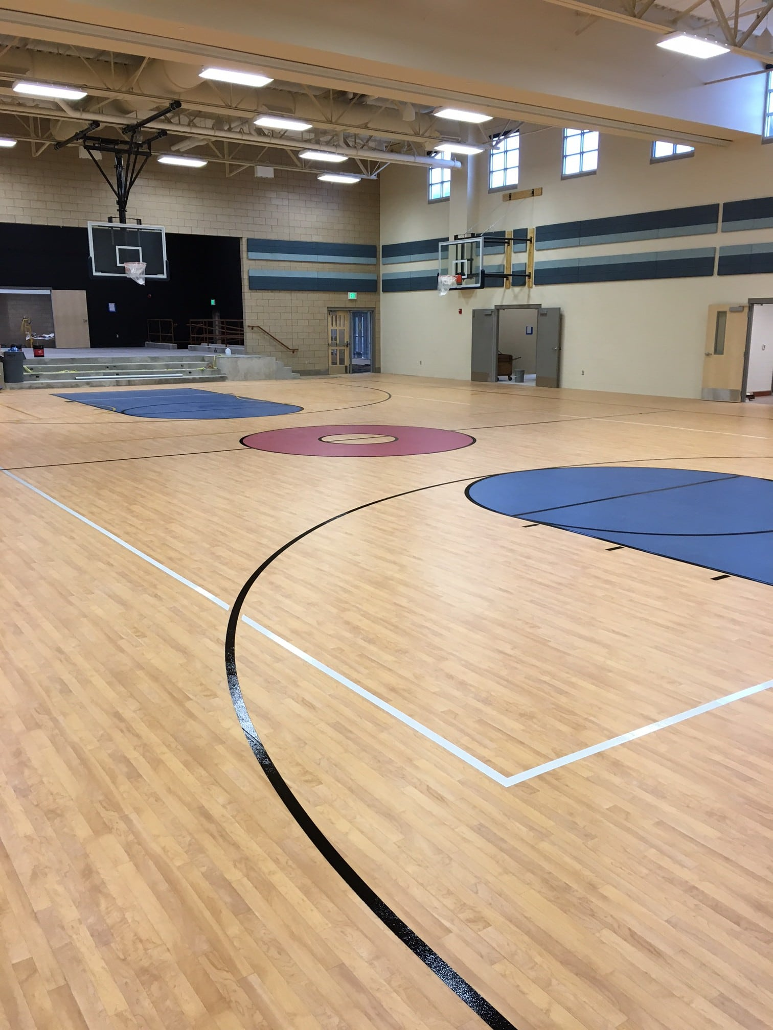 Resilient Gymnasiums Comflors